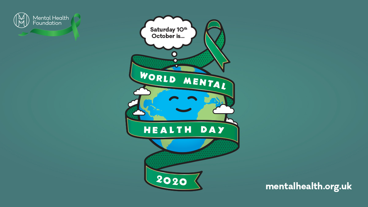 This year's World Mental Health Day is Saturday 10 October